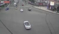 Talihsiz kazalar MOBESE kameralarında