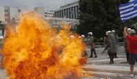 Atina'daki Olaylarda 65 Kişi Yaralandı