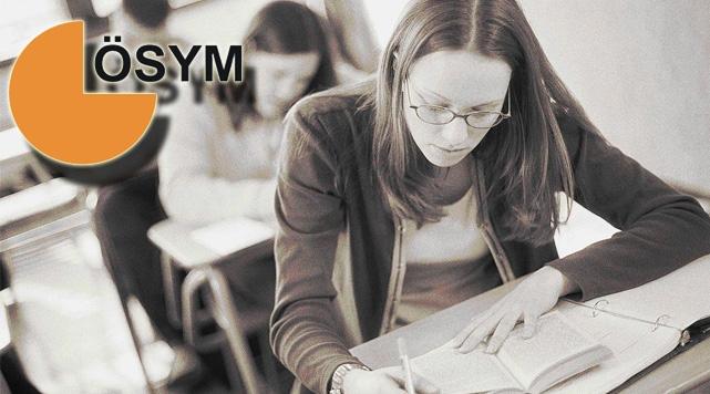 ÖSYM 2014 sınav tarihleri açıklandı
