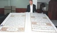 İşte Dünyanın En Büyük Kur'an-ı Kerim'i