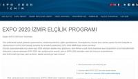 """EXPO 2020 İçin """"İzmir Elçilik Programı"""""""