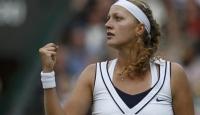 Wimbledon'un Kraliçesi Kvitova