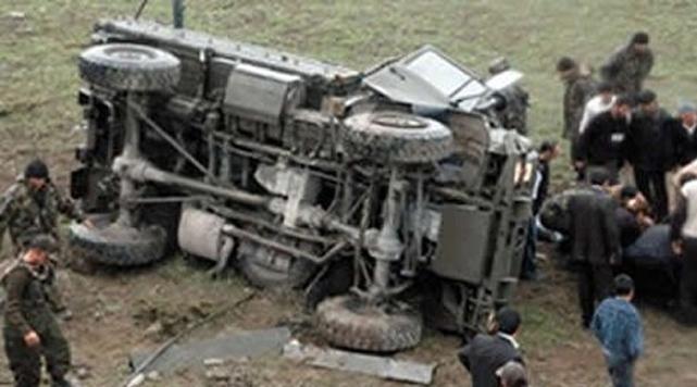 Kazada 1 Asker Şehit Oldu