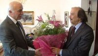 TRT Genel Müdürü Şahin'den Hatipoğlu'na Vefa Ziyareti