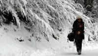 Karaman'da Eğitime Kar Tatili