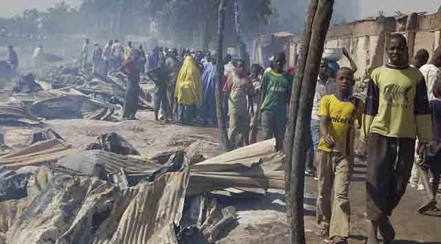 Nijeryada Kiliselere İntihar Saldırısı