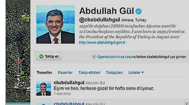 Cumhurbaşkanı Gül dünyada 2nci sıraya yükseldi