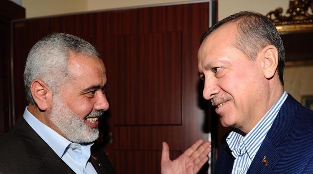 Erdoğan, Haniye ile Görüştü