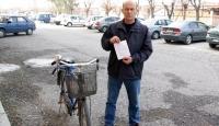 Alkollü Bisiklet Sürücüsüne 590 TL Ceza
