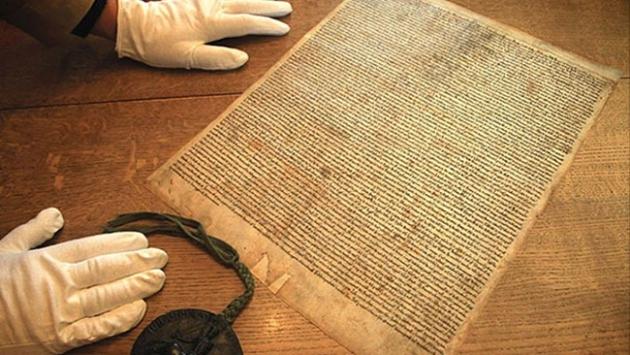 700 yıllık Magna Carta kopyası bulundu