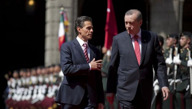 Cumhurbaşkanı Erdoğan Meksikada