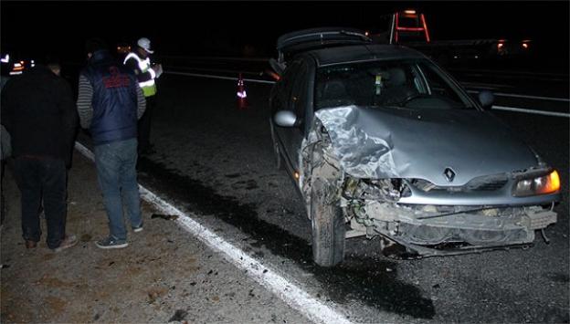 Elazığda trafik kazası
