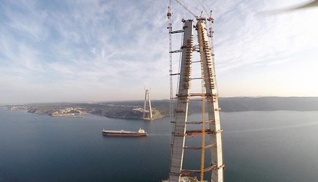 Mega projeler Türkiyenin çehresini değiştiriyor