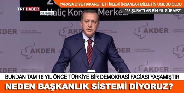 Türkiye 18 Yıl önce demokrasi faciası yaşamıştı