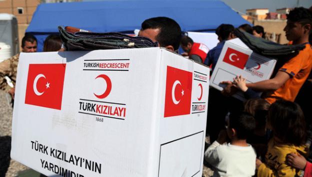 Türkiye'den, Kerbela'daki sığınmacılara insani yardım