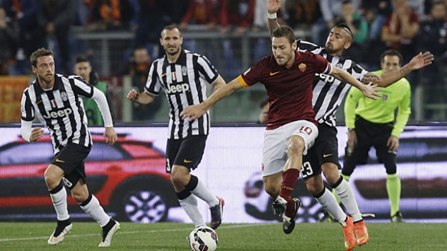 Juventus ile Roma berabere kaldı