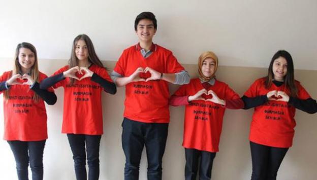 Liseli gençlerden anlamlı proje