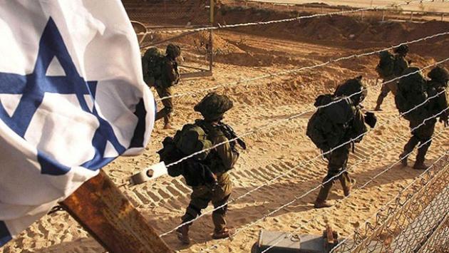 İsrail baskınında bir Filistinli yaralandı