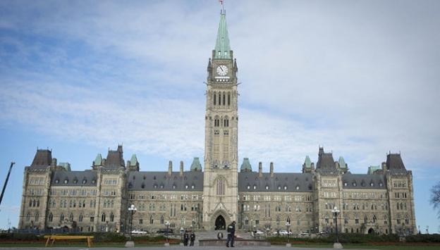 Kanada Parlamentosu'nda protesto
