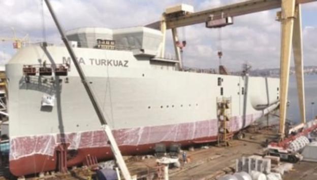 Türkiyenin ilk yerli petrol arama gemisi hazır