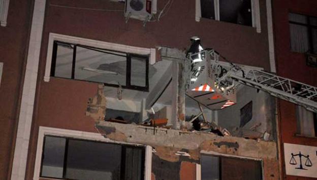 Kağıthanede bombalı saldırı