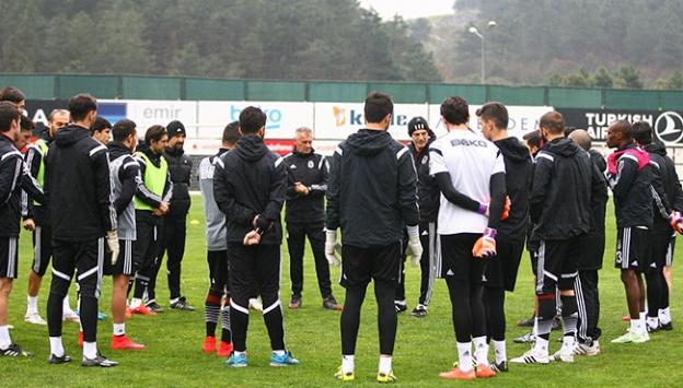 Beşiktaş, İstanbul Başakşehir maçına hazırlanıyor