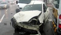 Vanda zincirleme trafik kazası: 11 yaralı