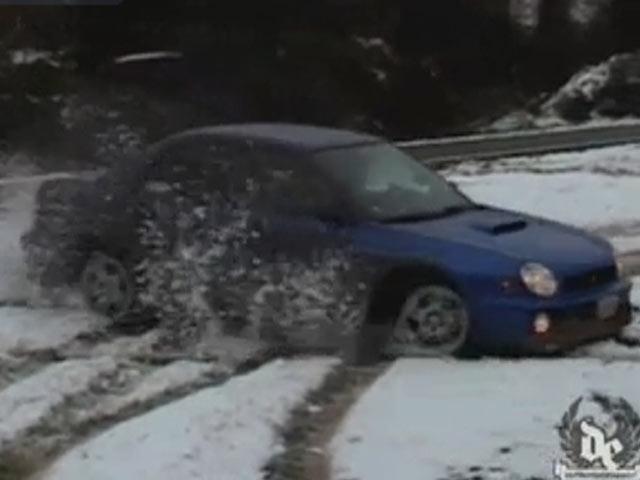 Kar Üstünde Drift