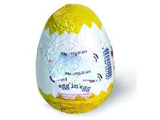 Sürpriz Yumurtanın İçinden Gerçek Yumurta Çıkarsa