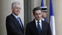 Sarkozy ve Monti Borç Krizini Görüştü