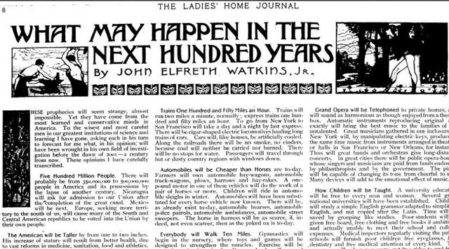 100 Yıl Önce Söylediklerinin Hepsi Doğru Çıktı