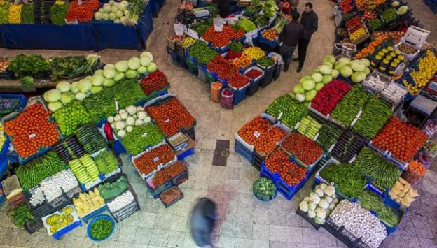 Sebze ve meyve fiyatları yükseldi