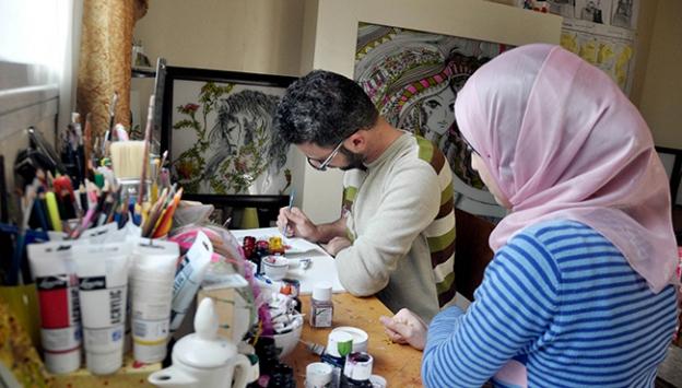 İsrail ablukasına sanatla direniyorlar