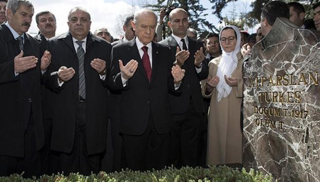 Alparslan Türkeş vefatının 18. yılında anıldı