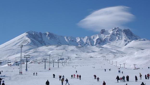 1 Milyon 600 bin kişi Erciyesi ziyaret etti
