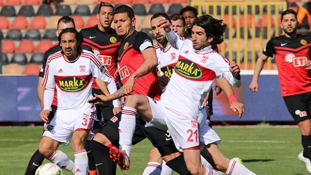 Eskişehirspor 1 - Medicana Sivasspor 3