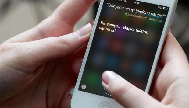 Appleın akıllı asistanı Siri Türkçe oldu