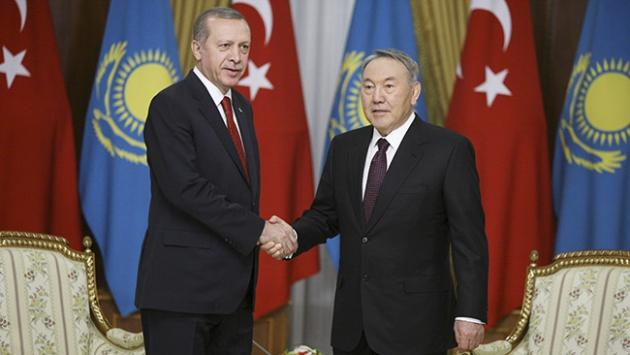 Cumhurbaşkanı Erdoğan, Astanadaki temaslarını tamamladı