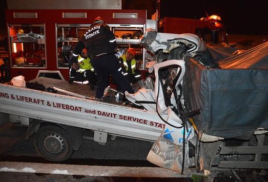 Sakaryada trafik kazası: 2 ölü