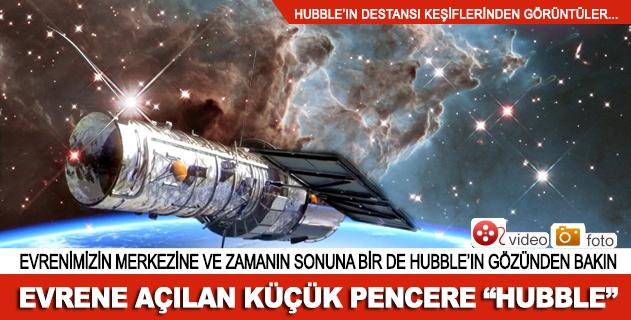 """Evrene açılan küçük pencere """"Hubble"""""""