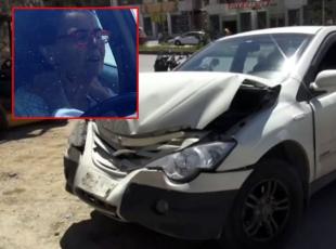 Fatma Girik trafik kazası yaptı