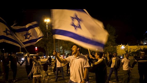 İsrail Filistinlilerin Büyük Felaketini kutluyor