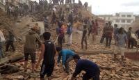 Nepalde 7,9 büyüklüğünde deprem