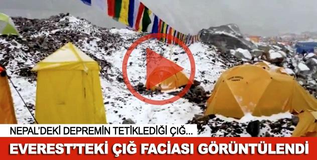 Everestte çığ faciası