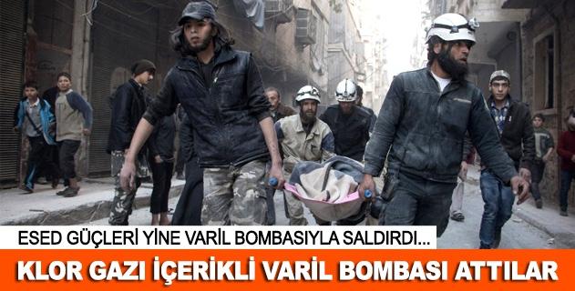 Suriye ordusu yine varil bombalarıyla saldırdı