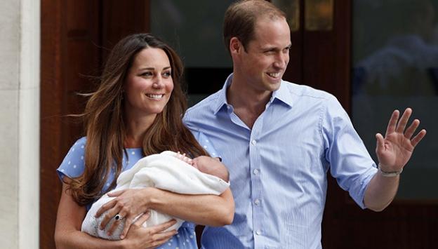 İngilterede kraliyet bebeği heyecanı