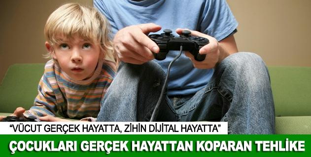 Çocuklarýn gerçeklik algýsý dijitalleþiyor