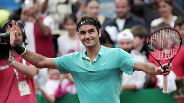 İstanbul Açık'ta şampiyon Federer