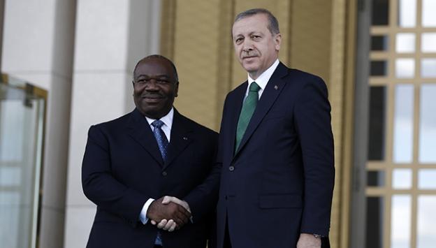 Gabon Cumhurbaşkanı Ondimba Ankarada