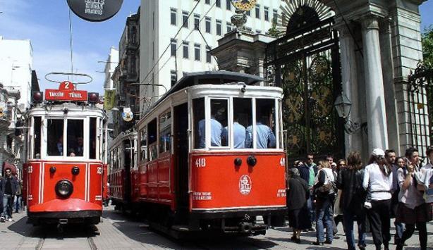 İstanbulda 500 milyon kişi raylı sistemleri kullandı